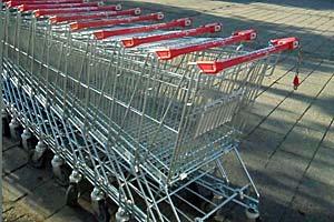 Indkøbsvogn: Hvis du tager indkøbsvognen, kommer du nemt til at købe for meget.