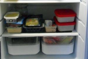 Mad, der gemmer sig i køleskabet