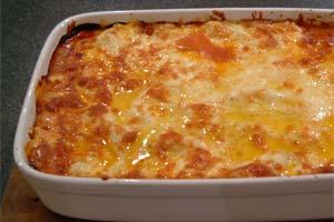 Få brugt dine grøntsagsrester til lasagne